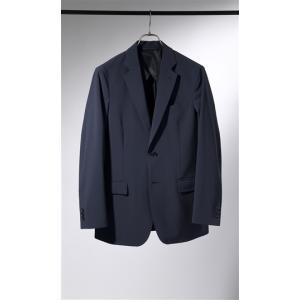 春夏用 ネイビー系 スタイリッシュスーツ DESCENTE|洋服の青山PLUS