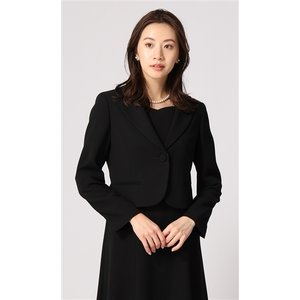 オールシーズン用 ブラック系  1ボタン テーラードフォーマルジャケット ANCHOR WOMAN PERSON'S|y-aoyama