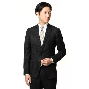 秋冬用 ブラック系 スタイリッシュスーツ PERSON'S FOR MEN|洋服の青山PLUS
