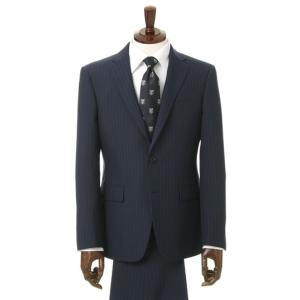 春夏用 ネイビー系 スタイリッシュスーツ RITORNO 洋服の青山PLUS
