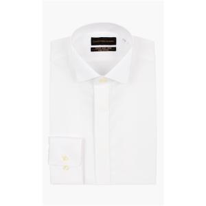 オールシーズン用 ホワイト系  長袖  モーニング用 ウイングカラーワイシャツ CHRISTIAN ORANI|y-aoyama