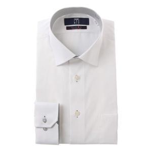 オールシーズン用 ホワイト系  長袖  ワイドカラー スタイリッシュワイシャツ(トール) PERSON'S FOR MEN|y-aoyama