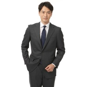 秋冬用 グレー系 スタンダードスーツ CHRISTIAN ORANI BLACK LABEL|洋服の青山PLUS