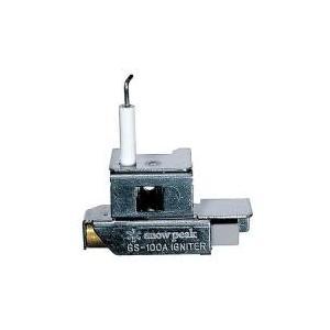 """・ギガパワーストーブ""""地""""専用の自動点火装置です。ネジ1個で本体への装備ができ、赤いボタンを押すだけ..."""