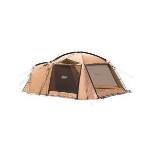 たてやすくワイドなリビングスペースを備えたタフコンセプト2ルームテント1人でもスムーズに設営できる簡...