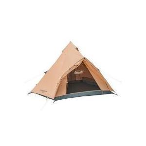 開閉時テント内に雨の浸入を防ぐ前室を備えたシンプル構造のティピー型テント・耐水圧:約1,500mm(...