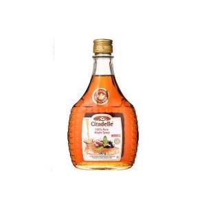 瓶入カナダの楓の木から取れる樹液だけで作られた、琥珀の色あいとメープルの風味のバランスが良いピュアシ...
