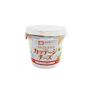 チーズ・乳製品 / 冷蔵便/メイトー カッテージチーズ(裏ごし) / 200g TOMIZ/cuoc...