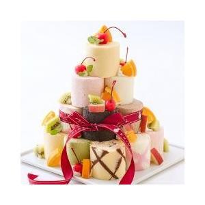 自分で積み上げる、遊び心も満点のロールケーキキット