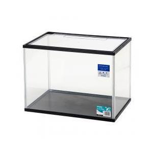 トリプル L ブラック(フタ付き):シンプルで使いやすい小型水槽上下樹脂製の枠で安全性を考慮した小型...