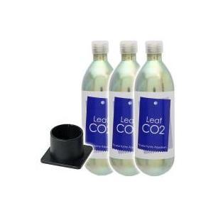 CO2機器 / Leaf CO2 ボンベ 74g 3本セット+CO2ボンベスタンド S−565付き ...