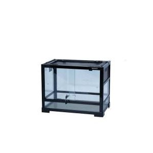 コンパクトに畳めるガラス製ケージ小型の爬虫類・両生類、昆虫等の飼育に最適な組み立て式ガラス製ケージで...