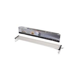 驚異のハイパワーを実現人気のコトブキ フラット LEDのツインタイプ90cm水槽に最適なLEDライト...
