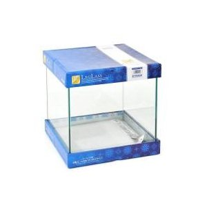 視界を遮る水槽枠がないから、お部屋の中のアクアリウムがより引き立ちます。キュートな正立方体のフレーム...
