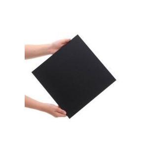 水槽用アクセサリ / プラパール 30cmキューブ水槽用マット ブラック 30×30cm 1枚