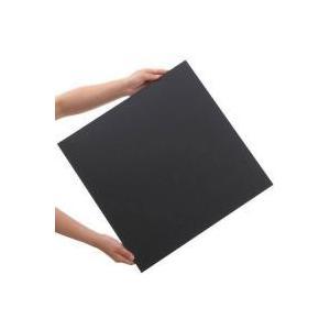 水槽用アクセサリ / プラパール 45cmキューブ水槽用マット ブラック 45×45cm 1枚