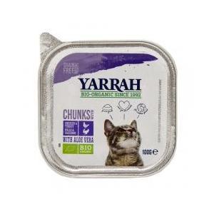プレミアムフード / YARRAH(ヤラー) チキンとターキーのキャットチャンク 100g 正規品 ...