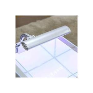 省エネ・長寿命の小型水槽用LEDライト省エネ、長寿命のLEDを使用し、ホワイトLED×12球、ブルー...