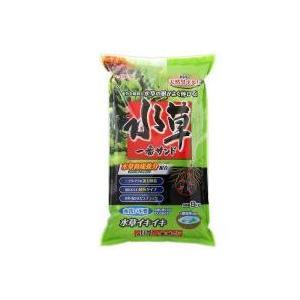 養分を吸収し水草の根がよく伸びるGEX 水草一番サンド 8kg (グリーン):特長:「水草一番サンド...
