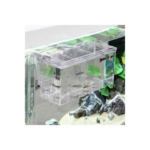 最大幅26cm(2L)のワイドな設計仕切り版使用で最大3室の飼育空間外掛式産卵飼育ボックス サテライ...