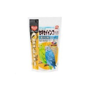 セキセイインコの成長段階に合わせてバランスよく配合クオリス セキセイインコ若鳥用グロース 400g:...