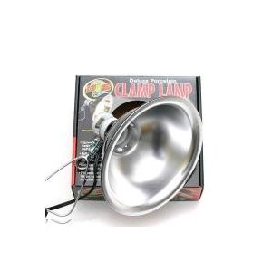 ZOOMED クランプランプソケット 8.5インチ 爬虫類 ライト 照明 保温球 UV球 クリップス...