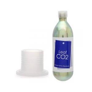 CO2機器 / Leaf CO2 ボンベ 74g 1本+ボンベスタンド ナチュラル付き CO2 ボン...