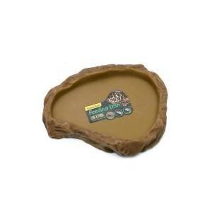 フィーディングディッシュ S自然の岩をイメージしたテラリウムにぴったりな爬虫類・両生類用のえさ皿です...
