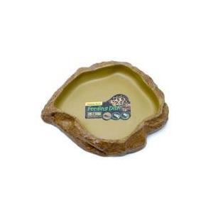 フィーディングディッシュ M自然の岩をイメージしたテラリウムにぴったりな爬虫類・両生類用のえさ皿です...