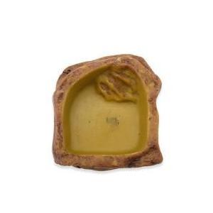 ウォーターディッシュ S自然の岩をイメージしたテラリウムにぴったりな爬虫類・両生類用の水飲み皿です。...
