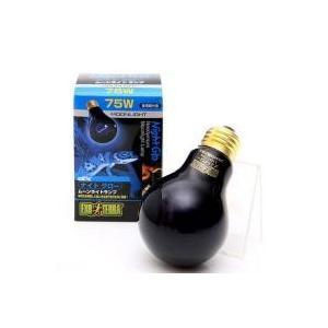 飼育用品 / GEX エキゾテラ 散光型 ナイトグロー ムーンライトランプ 75W (青) 爬虫類 ...
