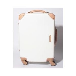 トランクのようなクラシックな雰囲気のあるスーツケース。ディテールにこだわった高級感あるデザインが他と...