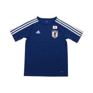 キッズモデル。サッカー日本代表、ホームレプリカTシャツ