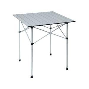 ・スポーツイベントやお花見など行楽に、コンパクトな収納テーブル・高さ2段階調節・使用時サイズ:約71...