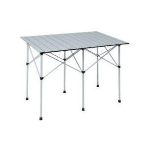・スポーツイベントやお花見など行楽に、コンパクトな収納テーブル・高さ2段階調節・使用時サイズ:約70...