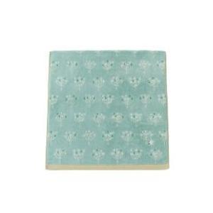 ふわふわな無撚糸を織り上げた今治バスタオルに、ことりの刺繍をワンポイントあしらいました。 同シリーズ...