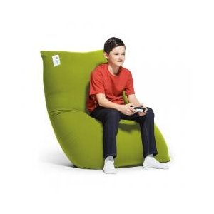 一人用のチェアやラブソファにもなるサイズのビーズソファです。 使わないときは立てておけば、場所も取り...