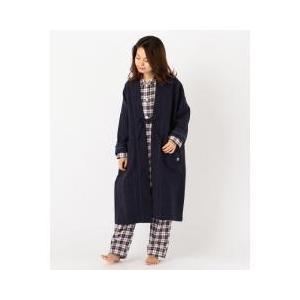 Villon'd(ヴィヨン)パジャマやルームウエアの上にさらりと羽織れるガウンと丹前をミックスしたよ...