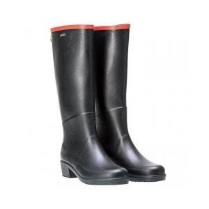 ミス ジュリエットA ラバーブーツ ・2009年に誕生したブランド初となるヒールブーツ。 防水性と耐...