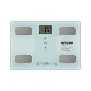 日々の健康管理に、体重体組成計 体重、体脂肪率、体水分率、体筋肉率、推定骨量、基礎代謝、BMIが計測...