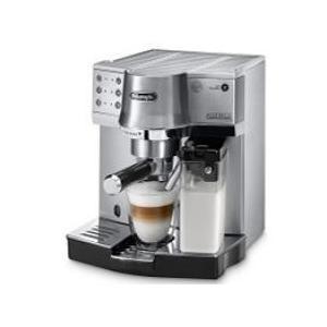 時間のない朝などはミルクコンテナを取り付けボタンひとつでカフェラテを。