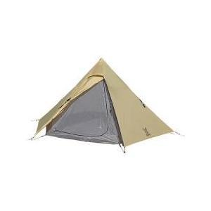 軽量&コンパクト。シンプルで組み立てやすい5人用ワンポールテント。