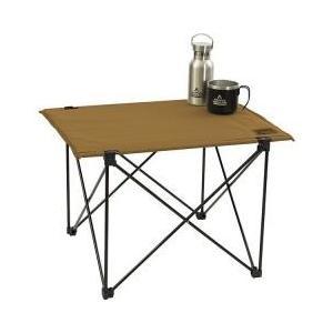 ・アルミ製で軽量、天板はポリエステル生地にアルミ板をいれて使用することで、使い勝手がよくスタイリッシ...
