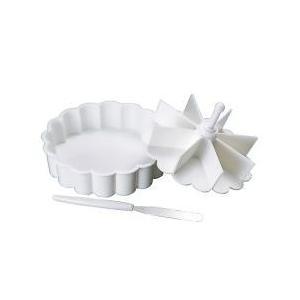 製菓用品 / ケーキ型 ゼリー型 マイパーラー ヘラ付き 電子レンジ対応 ( クッキングトレー 焼き...