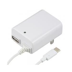 家庭用電源から、5V/2.1Aまでの電源を、Type-CとUSBから出力します どちらか1台の充電で...