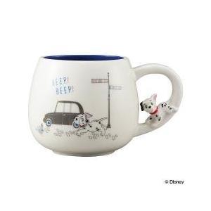 マグカップ・ティーカップ / マグカップ 300ml 101匹わんちゃん 追いかけっこマグ 磁器製 ...