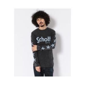 擦れた風合いのプリントがアクセントになっているサーマルTシャツです。重ね着からインナーまで着回しの効...