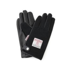 ジュンレッド / 手袋 / HARRIS TWEED(ハリスツイード)/PUコンビグローブお取り寄せ...