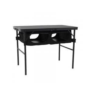 テーブル DOD アウトドアテーブル グッド ラック テーブル ブラックの商品画像|ナビ