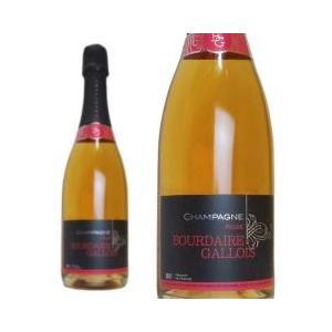 シャンパン・スパークリング / 10%OFFクーポン対象商品 シャンパン ブールデール・ガロワ ロゼ...